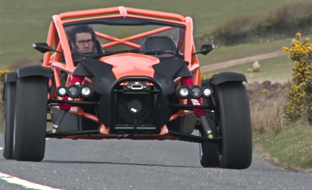 Ariel Nomad driven by Evo Magazine