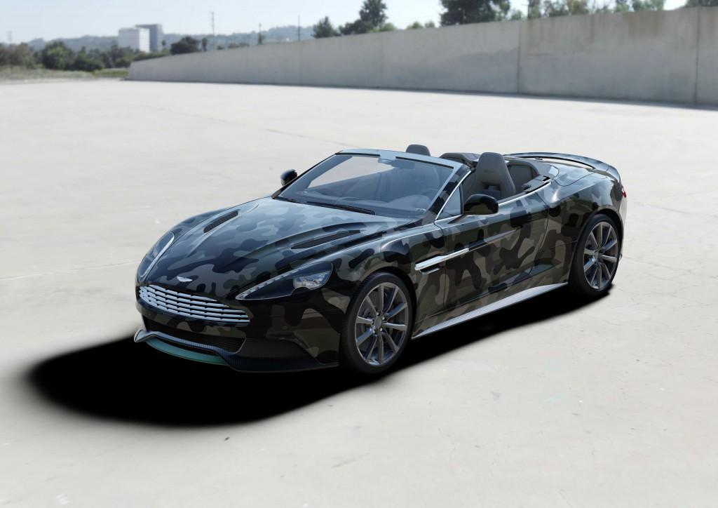 Aston Martin Vanquish Volante by Valentino