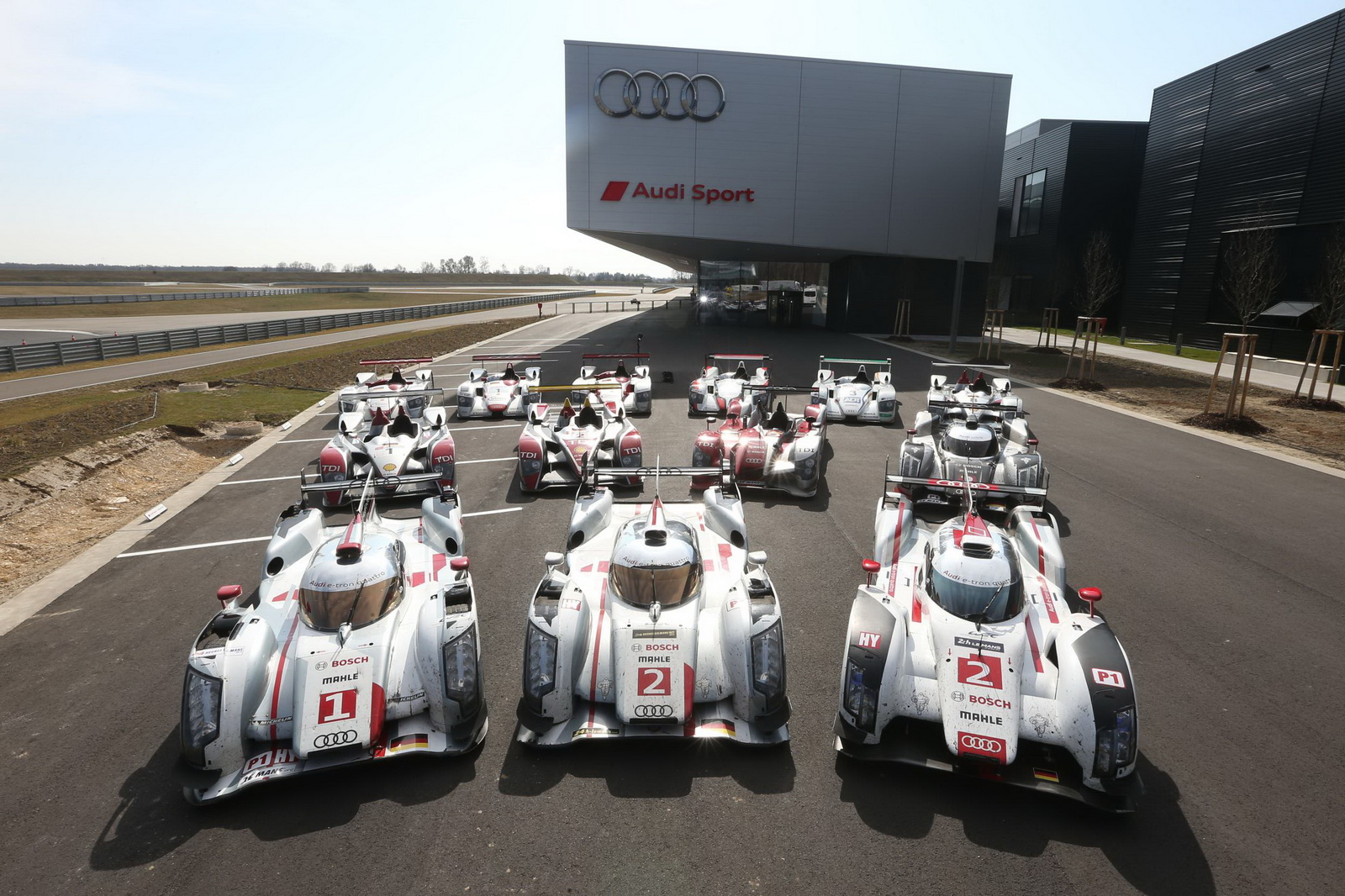 Ahead Of The 2017 Edition 24 Hours Le Mans Commencing On 13th June Audi Decided To Organise A Very Special Gathering All Its