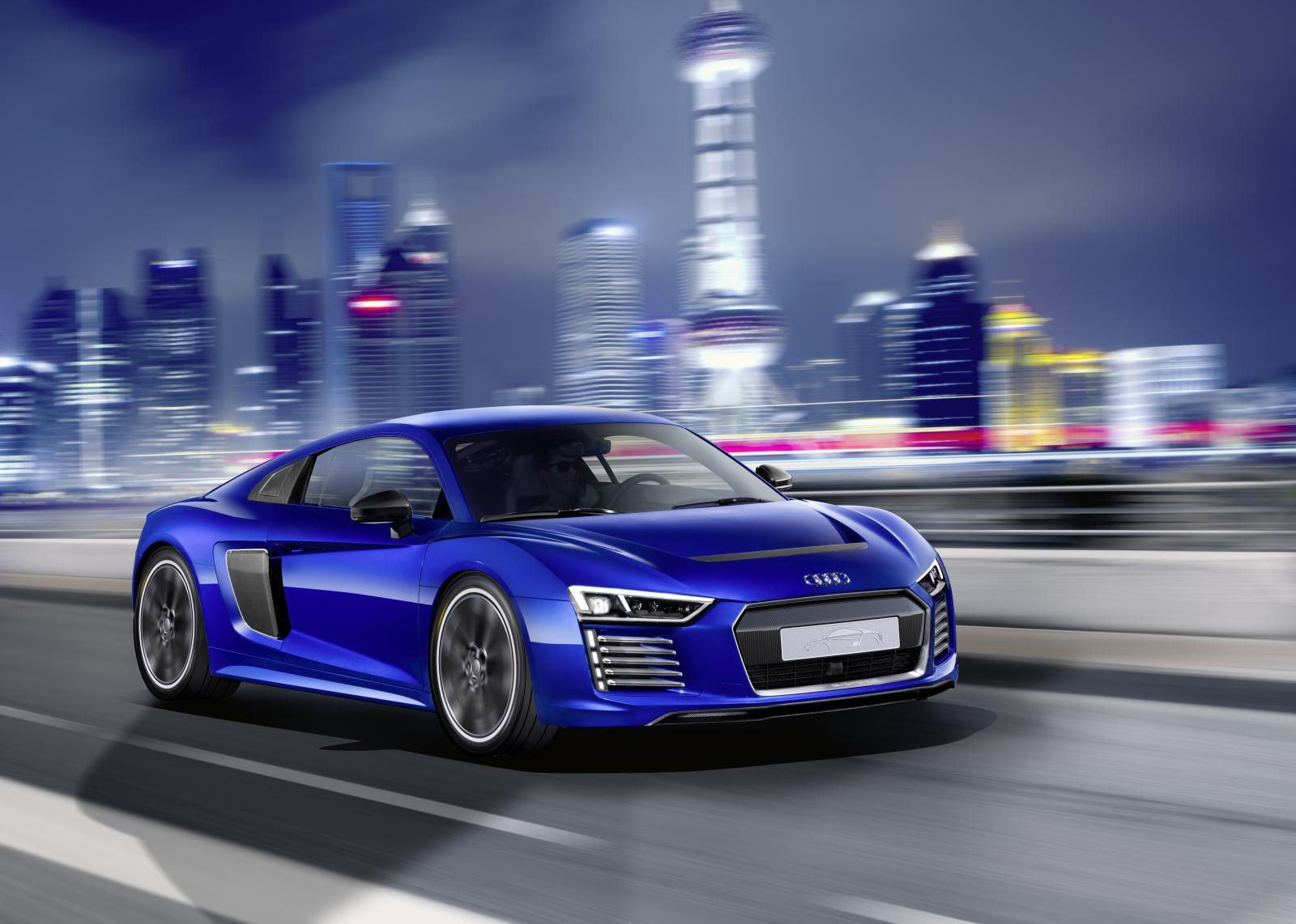 Official Audi R8 E Tron Piloted Driving Concept Gtspirit