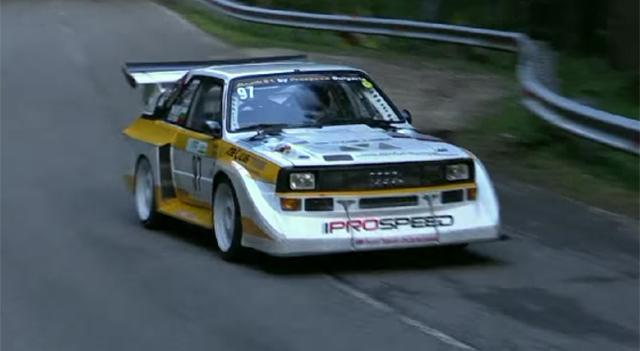 Audi Sport Quattro Q1 rally