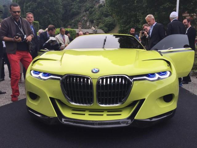 BMW 3.0 CSL Hommage at Villa d'Este 2015