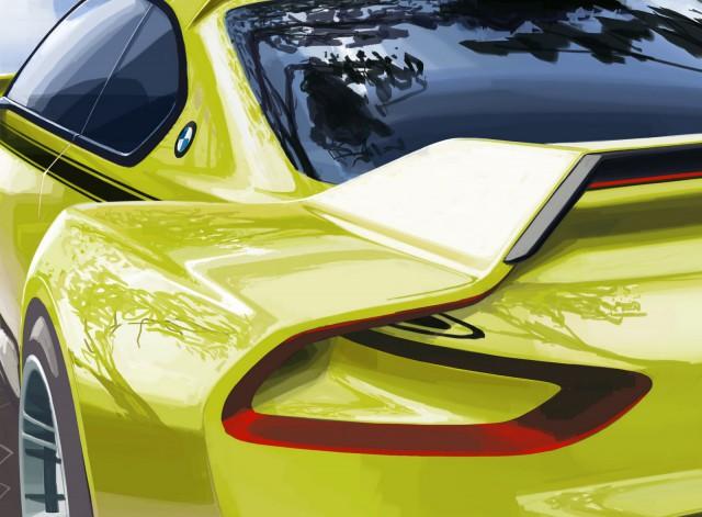 BMW M3 CSL Hommage Concept at Villa d'Este 2015