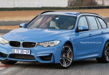 BMW M3 Touring rendering