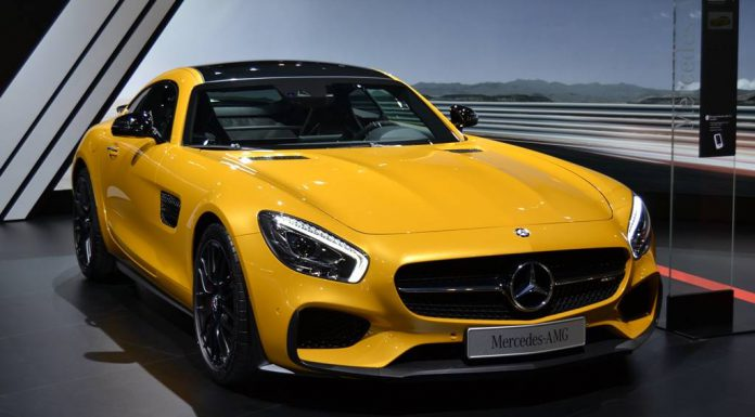 Barcelona Auto Show 2015 Mercedes-AMG GT S
