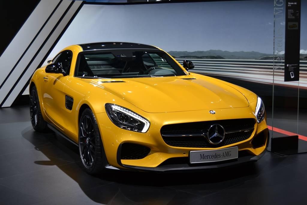 Barcelona Auto Show 2015 Mercedes-AMG GT S
