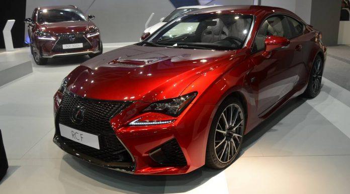 Barcelona Auto Show 2015 Lexus RC F