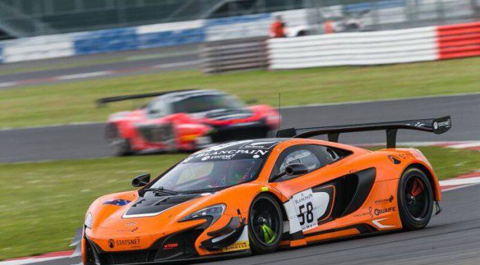 Blancpain GT: McLaren 650S GT3 Scores Maiden Win at Silverstone