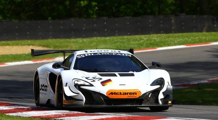 Blancpain Sprint Series McLaren 650S GT3