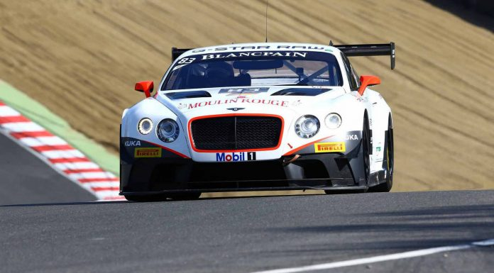 Blancpain Sprint Series HTP Motorsports Bentley Continental GT3