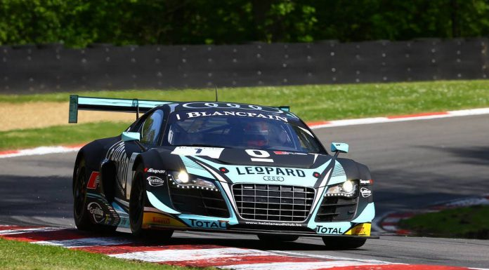 Blancpain GT: Audi Wins at Brands Hatch as Bentley Triumphs in Silver Cup