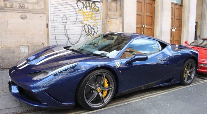 Bristol Italian AutoMoto Festival Ferrari 458 Speciale