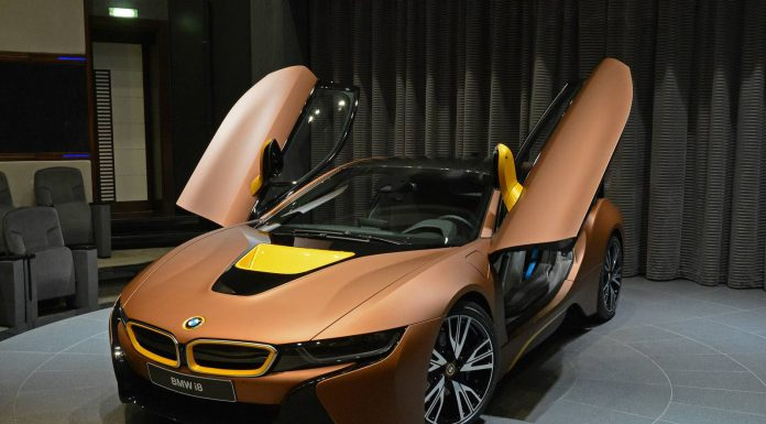 Brown BMW i8 For Sale in Abu Dhabi