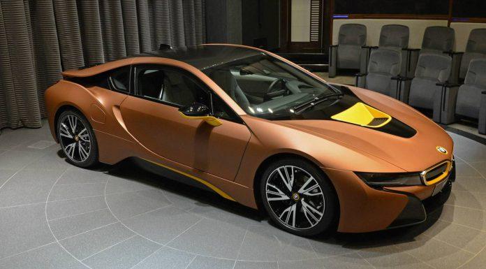 Brown BMW i8