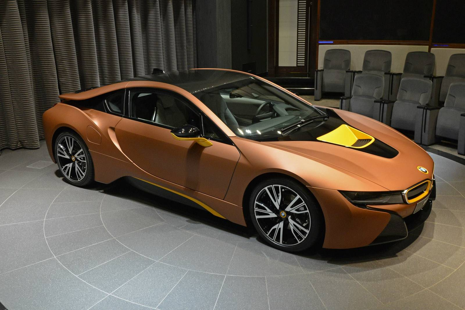 Brown Bmw I8 For Sale In Abu Dhabi Gtspirit