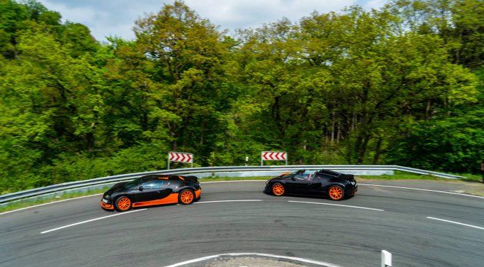 Bugatti Veyron Super Sport and Vitesse WRC Nurburgring