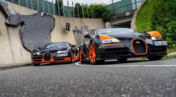 Bugatti Veyron Super Sport and Vitesse WRC 24 Hours of Nurburgring