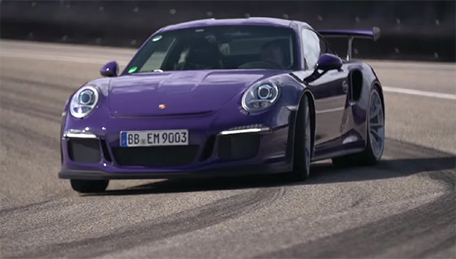 Chris Harris drives 2016 Porsche 911 GT3 RS