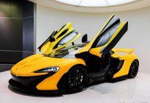 Third McLaren P1 Arrives in New Zealand