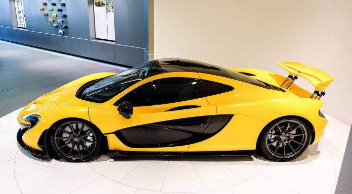 Volcano Yellow McLaren P1