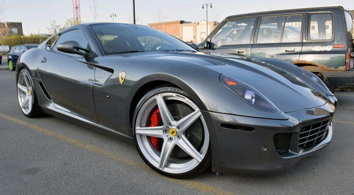 Ferrari 599 on ADV.1s