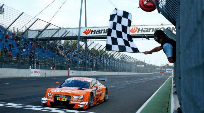 DTM Lausitzring Audi RS5