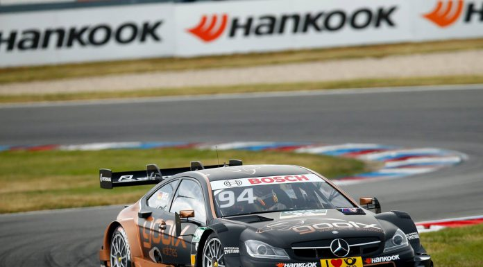 DTM Lausitzring Mercedes-AMG