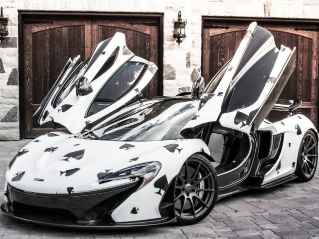 Deadmau5 reveals Gumball 3000 McLaren P1