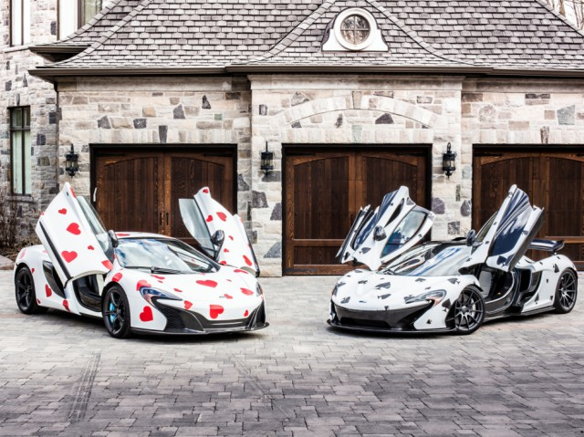 Deadmau5's McLarens for Gumball 3000