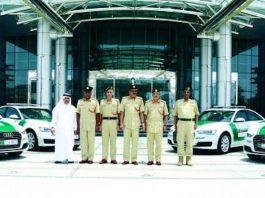 Dubai Police Audi A6