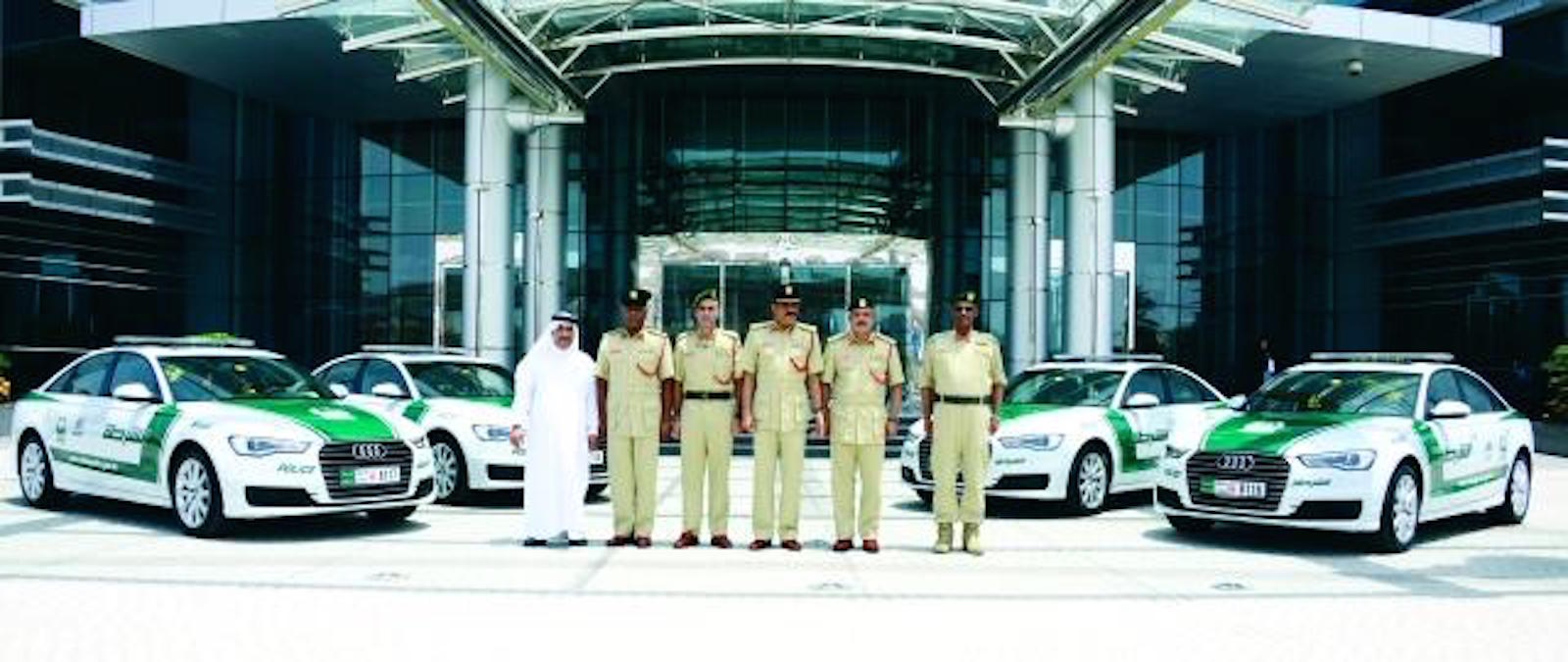 Полицейские Audi A6 в Дубае