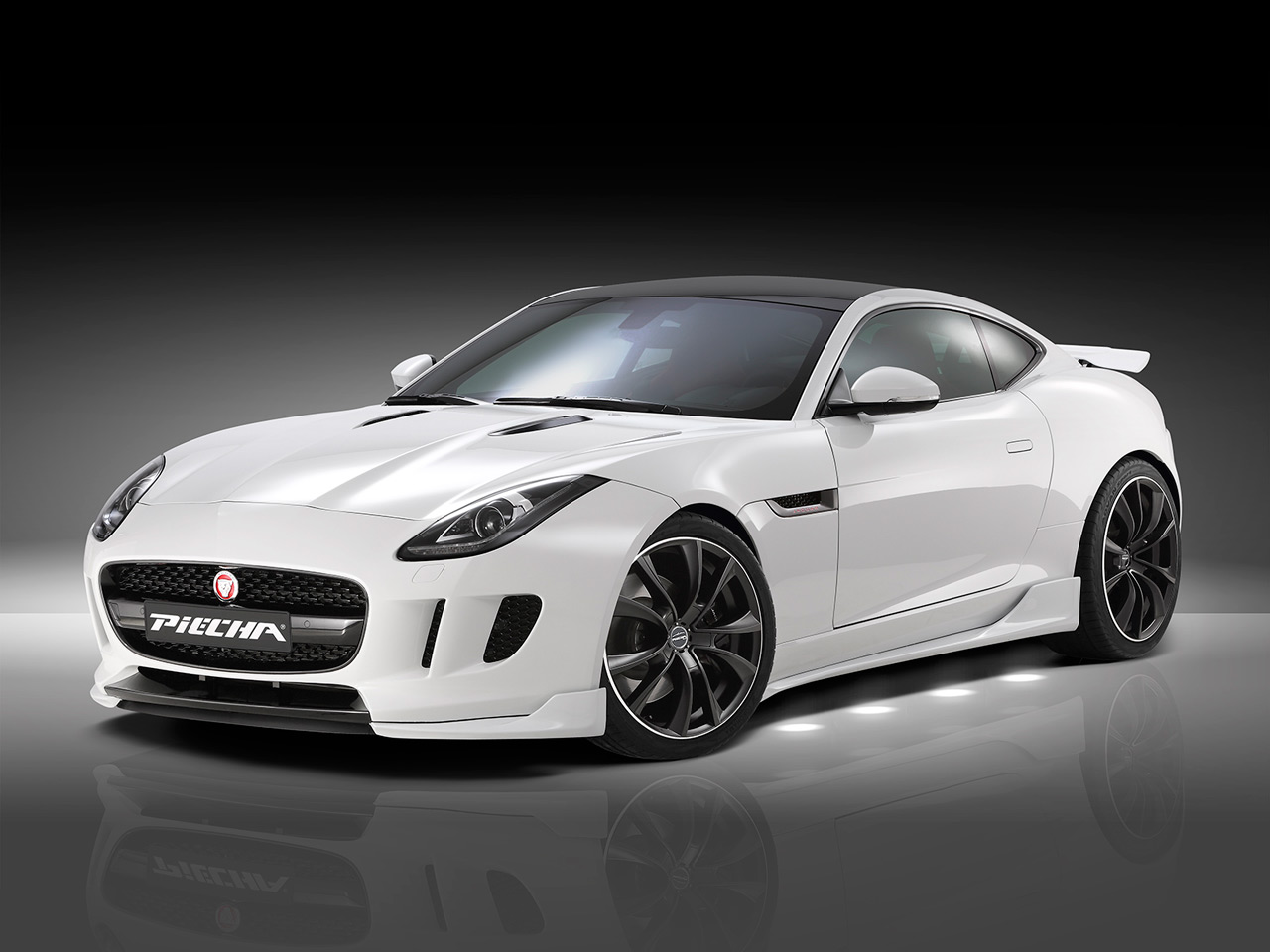 official jaguar f type coupe by piecha design gtspirit. Black Bedroom Furniture Sets. Home Design Ideas
