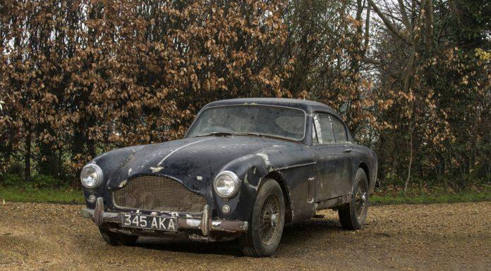 Bonhams Astonsale 1958 DB Mklll sport saloon