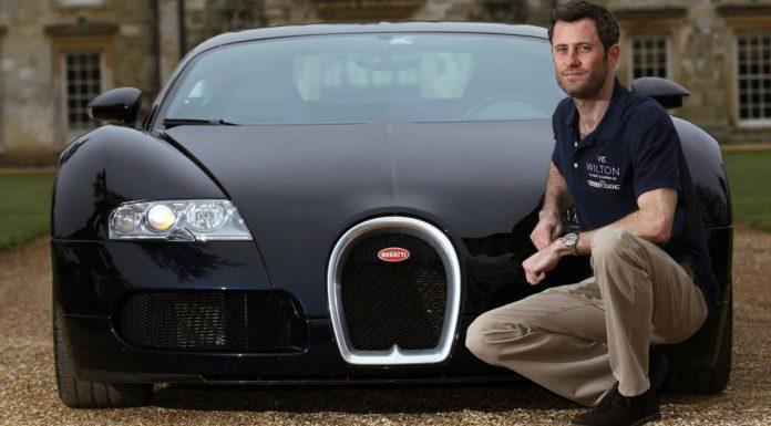 Lord Pembroke Bugatti Veyron Wilton
