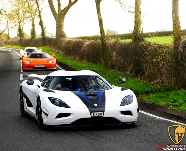 SupercarSiege Agera n heads for Leeds Castle