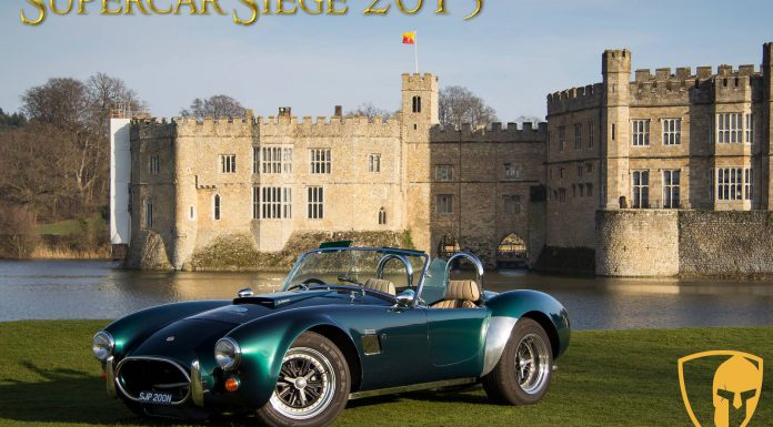Supercar Siege Cobra at Leeds Castle