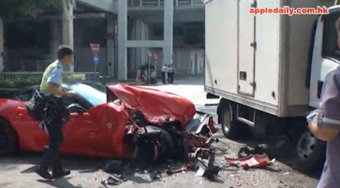 Ferrari 599 GTB crash1