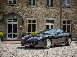Manual Ferrari 599 GTB for sale front