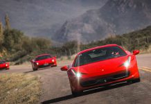 Ferrari Club Chile Embarks on Magical Trip to Los Andes
