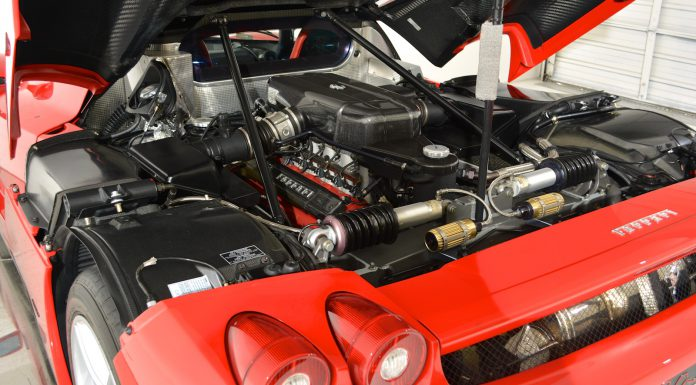 Ferrari Enzo For Sale engine