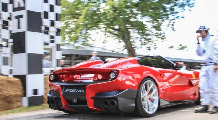 Ferrari F12 TRS  Goodwood Festival of Speed 2015