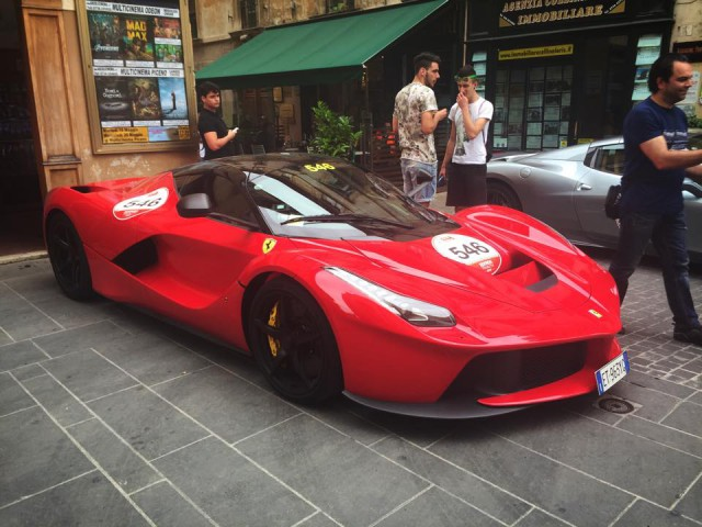 Ferrari LaFerrari Mille Miglia 2015
