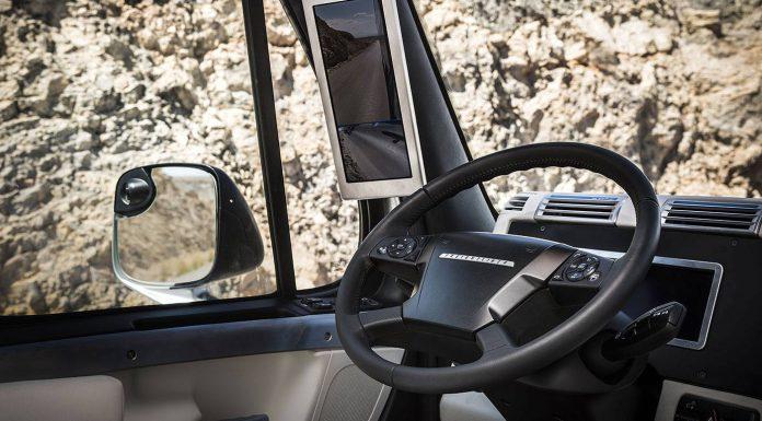 Freightliner Inspiration Truck Interior