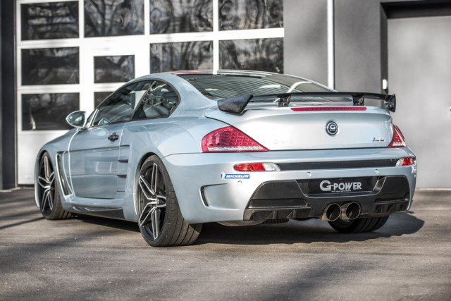 G-Power BMW M6 V10 with 1001hp rear