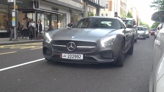 Video: Qatari Mercedes-Benz AMG GT S Burbles and Bangs