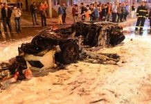 Lamborghini Gallardo destroyed in Shanghai fire