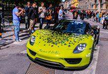 2015 Gumball 3000 Rally Porsche 918 Spyder