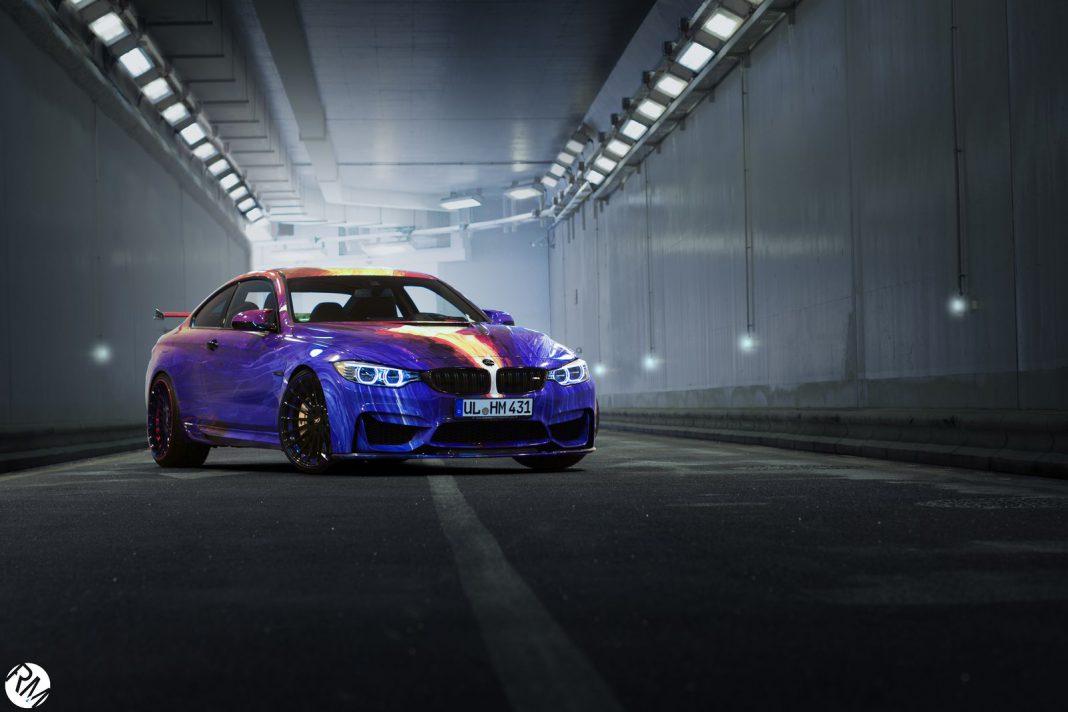 Hamann BMW M4 Art Car in Monaco