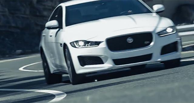 Jaguar XE stars in new promo