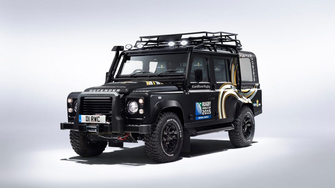 Land Rover Defender SVO Rugby World Cup